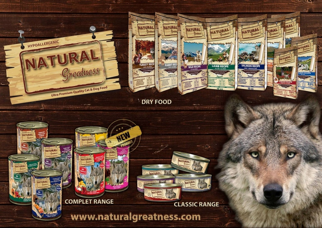 Welcome To Natural Greatness Petfood Baltic Website